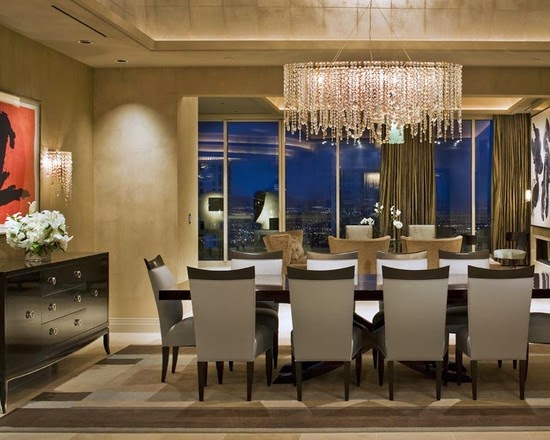 crystal chandelier for modern house - Dining Room Crystal Lighting